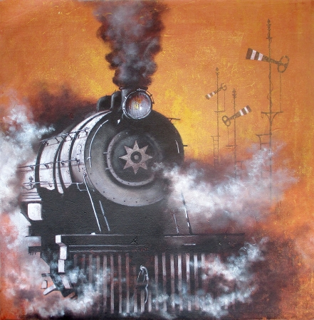 Nostalgia of steam locomotives 27